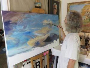 Vicki-painting