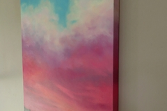 Skyscape framed