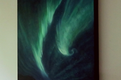 Skyscape on gallery wrap canvas